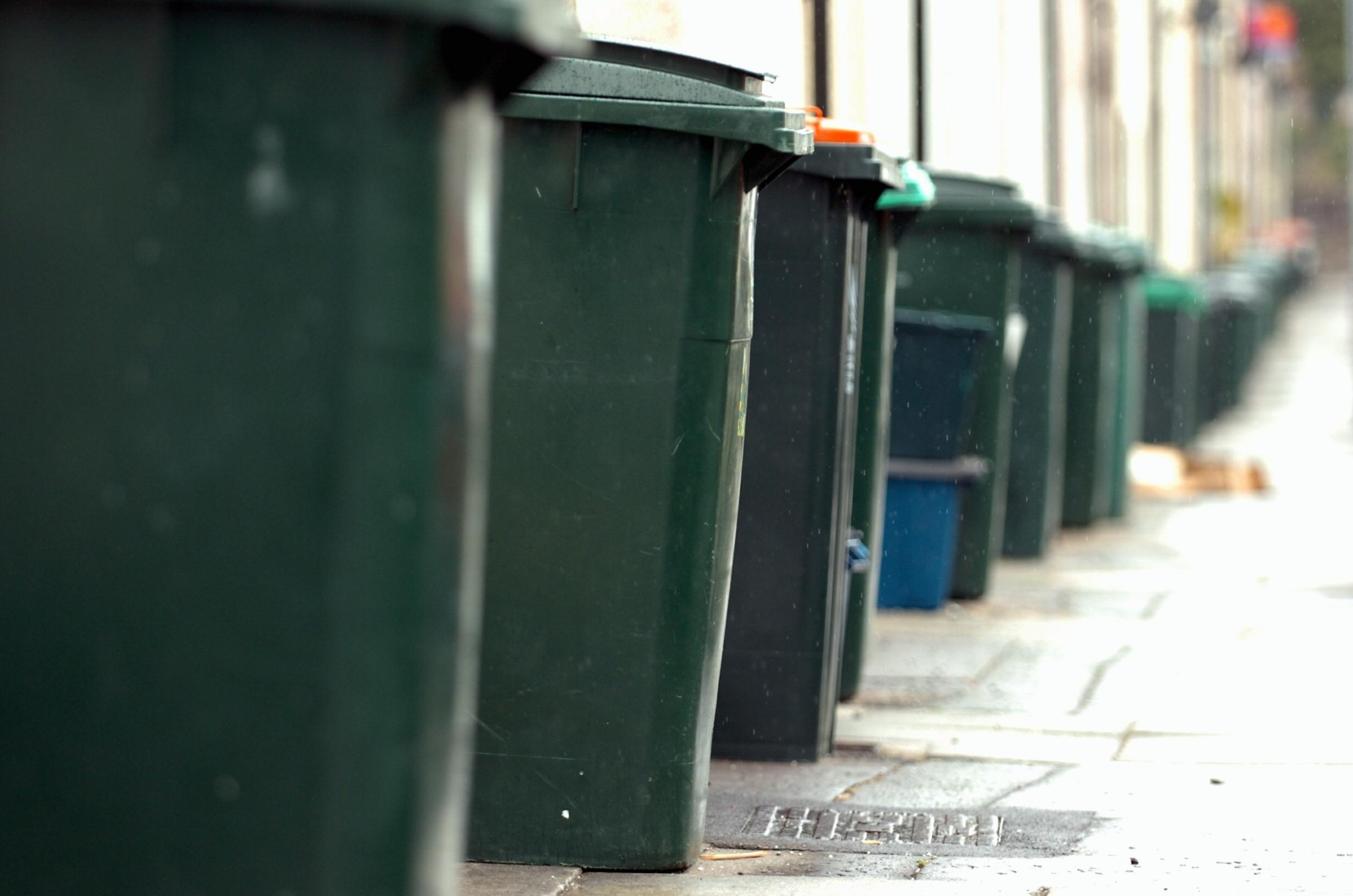 wheelie bin collection