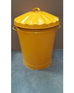 Metal Trash Can Available in 5 Colours